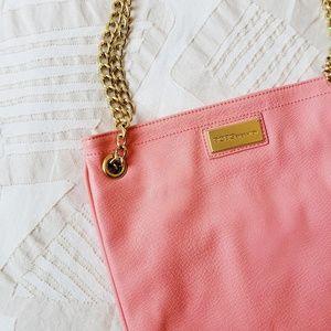 BCBGeneration Pink Chain Bag